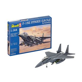 Revell 03972 Flygplan F-15E STRIKE EAGLE & bombs