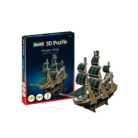 Revell 00115 3D Pussel Pirate Ship