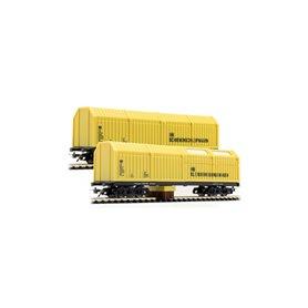 Lux Modellbau 9630 Rengörningsvagnar Dubbelpack 1 för AC