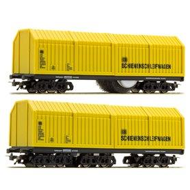 Lux Modellbau 9633 Rengörningsvagnar Dubbelpack 2 för AC
