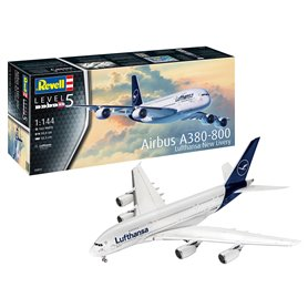"""Revell 03872 Flygplan Airbus A380-800 Lufthansa """"New Livery"""""""