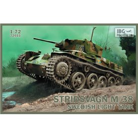 IBG Models 72033 Tanks Stridsvagn m/38 Swedish light tank
