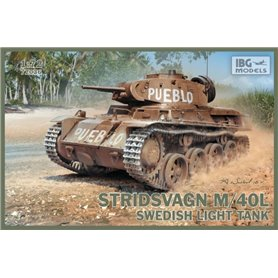 IBG Models 72036 Tanks Stridsvagn m/40 L Swedish light tank
