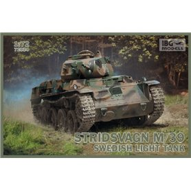 IBG Models 72034 Tanks Stridsvagn m/39 Swedish light tank
