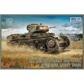 IBG Models 72035 Tanks Stridsvagn m/40 K Swedish light tank