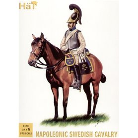 Hät 8178 Figurer Napoleonic Swedish Cavalry