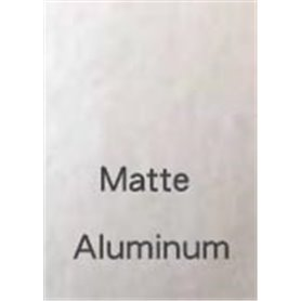 """Bare-Metal 011 Bare-Metal Foil """"Matte Aluminium"""""""