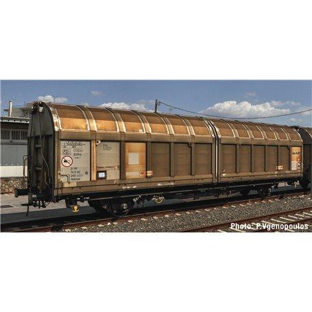 """Roco 77490 Godsvagn med skjutdörr Hbbinns typ SJ """"Green Cargo"""""""