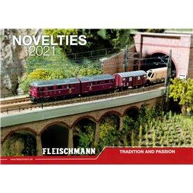 Fleischmann 992121 Fleischmann Nyhetskatalog 2021 Engelska