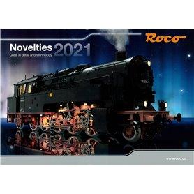 Roco 80821 Roco Nyhetskatalog 2021 Engelska