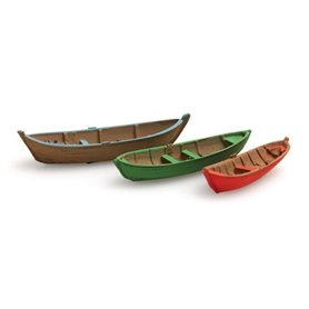Artitec 31604 Äldre roddbåtar, 3 st