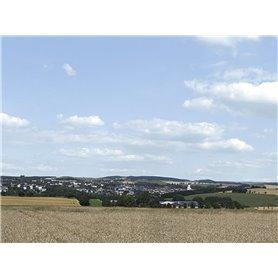"Auhagen 42514 Bakgrundskuliss Landskapsmotiv ""Erzgebirge 2"" 3 delad"