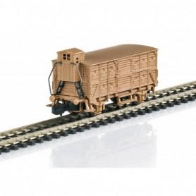 Märklin 86606 Type VH 14 Boxcar in Real Bronze