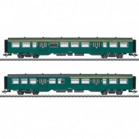 Märklin 43547 M2 Passenger Car Set