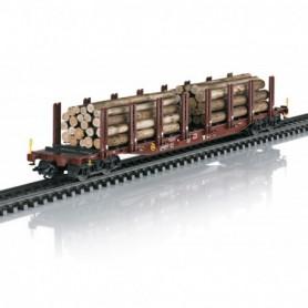 Märklin 47146 Wood Transport Stake Car Set