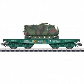 Märklin 48874 Tungtransportvagn Rlmmps DB AG med last av M113