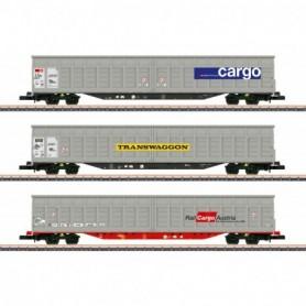 Märklin 82418 Sliding Wall Boxcar Set