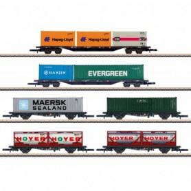 Märklin 82665 Container Transport Car Set