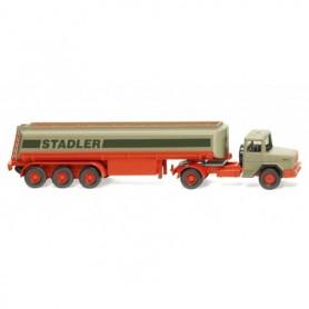 Wiking 78006 Tanker trailer truck (Magirus Deutz) 'Stadler'