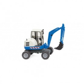 Wiking 65807 Mini excavator - blue