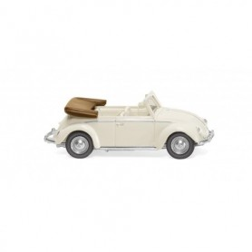 Wiking 79405 VW Käfer 1200 Cabrio - pearl white