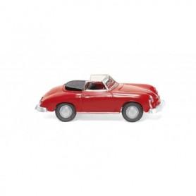 Wiking 16003 Porsche 356 Cabrio - signal red
