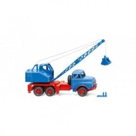 Wiking 66206 Crane truck (MAN|Fuchs) - sky blue