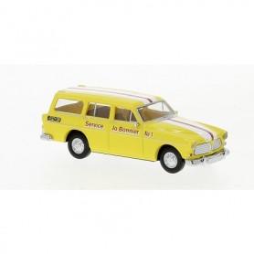 Brekina 29261 Volvo Amazon Kombi 'Service Jo Benner No.1'