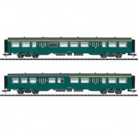 Trix 23222 M2 Passenger Car Set