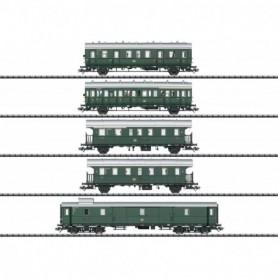 Trix 23458 Passenger Car Set for the Class E 44.5