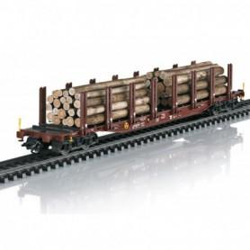 Trix 24146 Wood Transport Stake Car Set