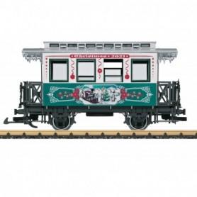 LGB 36021 Christmas Car for 2021