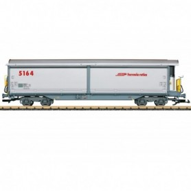 LGB 48574 Sliding Wall Boxcar with Refrigeration Equipment