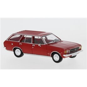 Brekina 870020 Opel Rekord D Caravan, röd, 1972