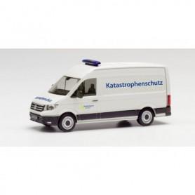 Herpa 095754 VW Crafter box high roof 'Katastrophenschutz Städteregion Aachen'