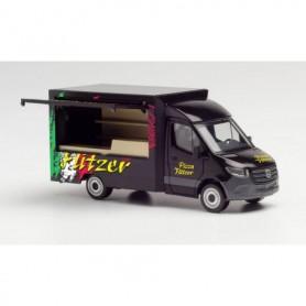 Herpa 095884 Mercedes-Benz Sprinter 18 Foodtruck 'Pizza Flitzer'