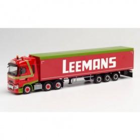 Herpa 312790 Renault T 6x2 sliding floor semitrailer 'Leemans' (Niederlande|Vriezenveen)