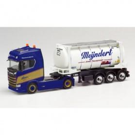 Herpa 312813 Scania CS 20 HD swapcontainer semitrailer 'Mijndert | Anne' (Niederlande|Rotterdam)