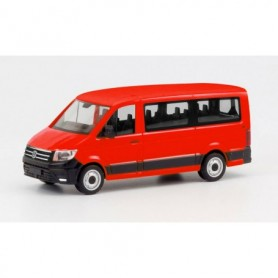 Herpa 095846 VW Crafter bus low roof, red