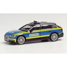 Herpa 095860 Audi A6 Avant 'test vehicle Police'