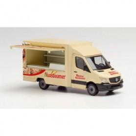 Herpa 095877 Mercedes-Benz Sprinter 13 Foodtruck 'Bäckerei Nussbaumer'