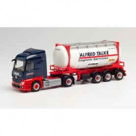 Herpa 312868 Mercedes-Benz Actros Streamspace 2.3 swapcontainer semitrailer 'Alfred Talke'