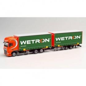 Herpa 312912 DAF XF Euro 6 SSC volume trailer 'Wetron' (Niederlande|Weert)