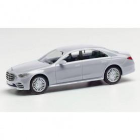 Herpa 430869 Mercedes-Benz S-Klasse, irridium silver