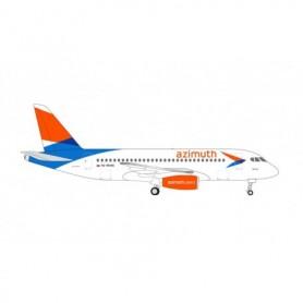 Herpa Wings 534796 Flyplan Azimuth Airlines Sukhoi Superjet 100 – RA-89085 'Volga'