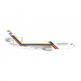 Herpa Wings 534819 Flyplan Ecuatoriana McDonnell Douglas DC-10-30 – HC-BKO