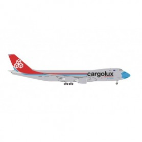 Herpa Wings 534895 Flyplan Cargolux Boeing 747-8F – LX-VCF 'Not Without My Mask'
