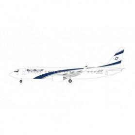 Herpa Wings 534901 Flyplan El Al Boeing 737-900 '1st Flight to UAE' – 4X-EHD 'Kiryat Gat'