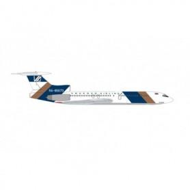 Herpa Wings 534918 Flyplan Vnukovo Airlines Tupolev TU-154M - RA-85673