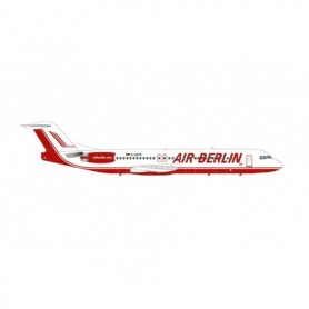 Herpa Wings 571203 Flyplan Air Berlin Fokker 100 – D-AGPK